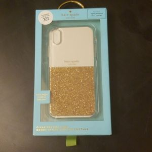 Kate Spade Clear Crystal Case for IPhone XR NEW